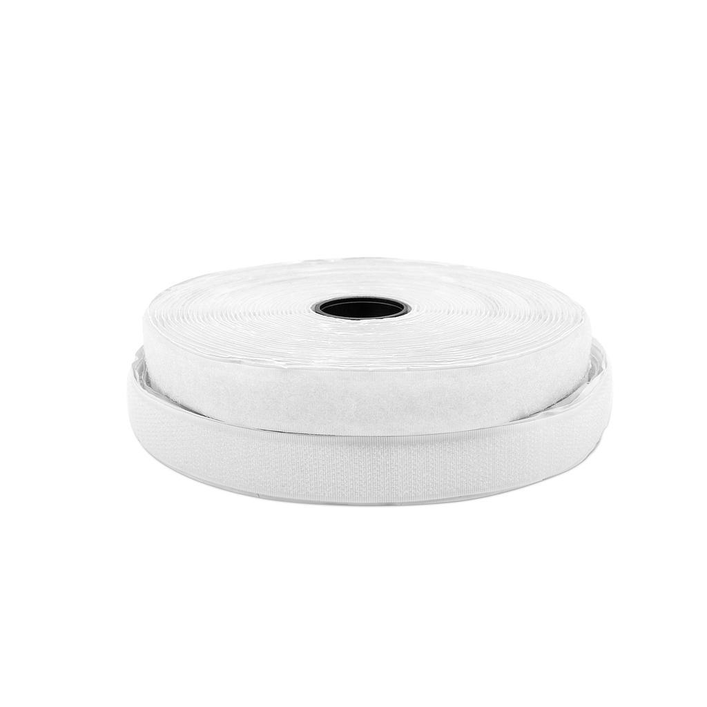 Abrojo AUTOADHESIVO de 20 mm x 10 mts Blanco