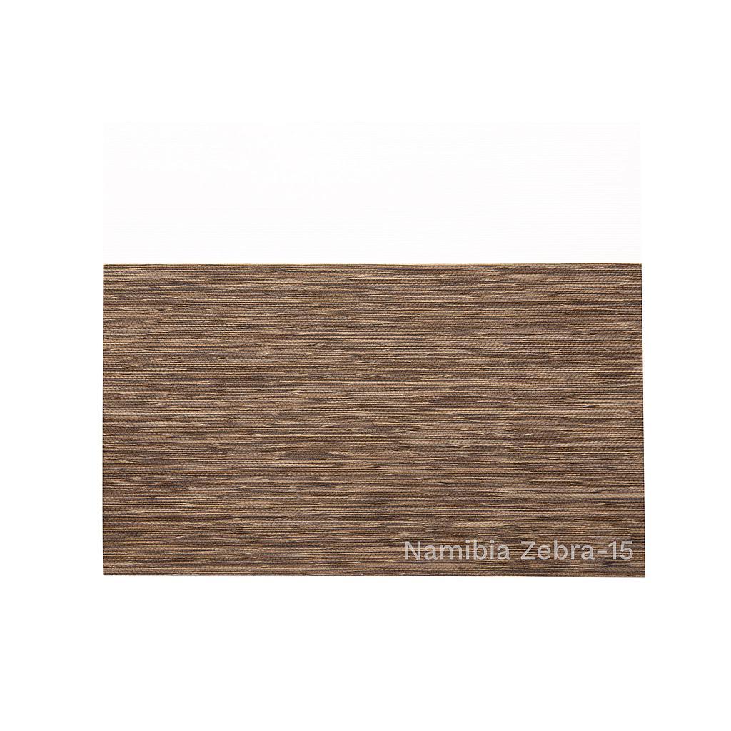 Tela ZEBRA 15 (Madera) NAMIBIA  (ancho 3,00 mts) Aika - OLO