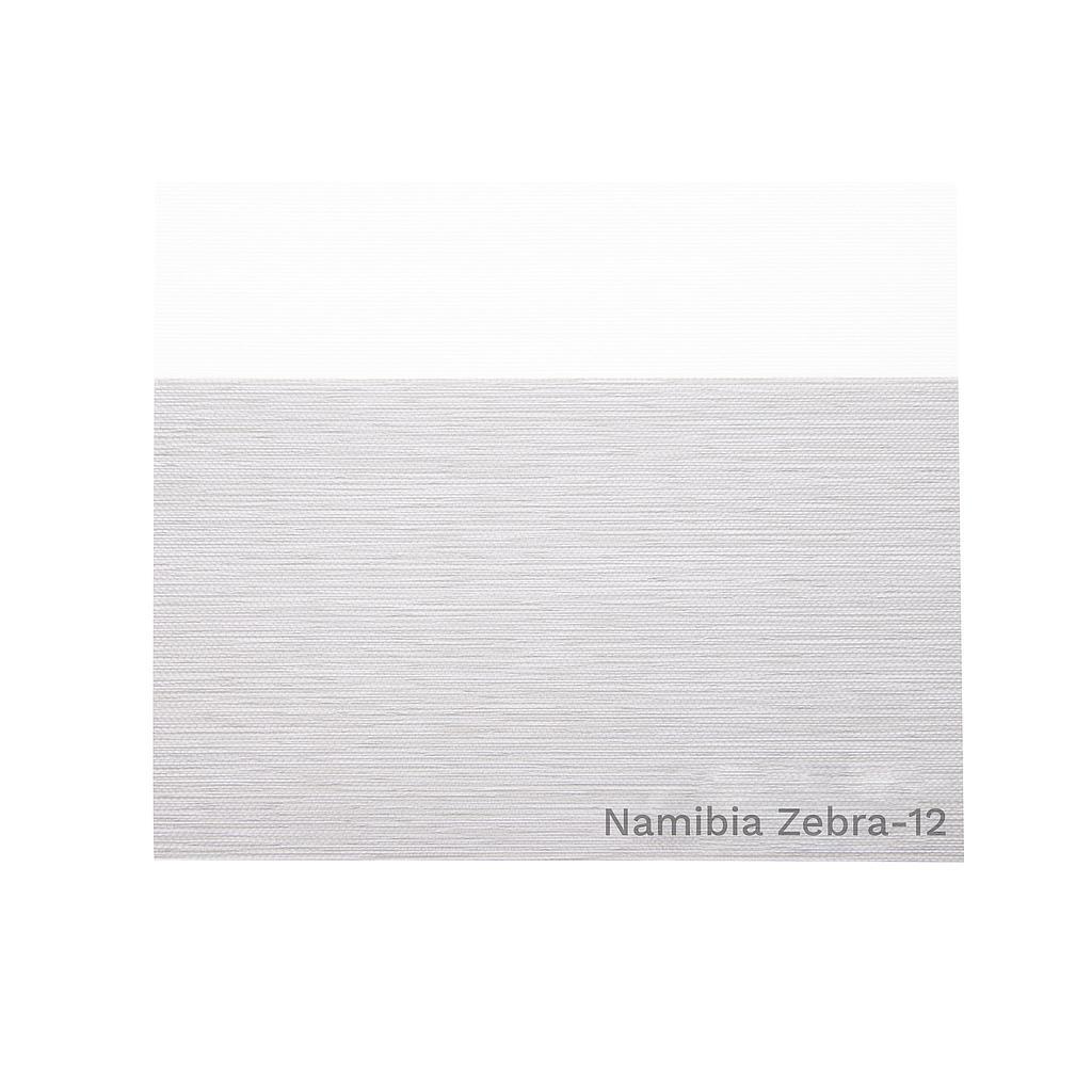 Tela ZEBRA 12 (Gris Claro) NAMIBIA  (ancho 3,00 mts) Aika - OLO