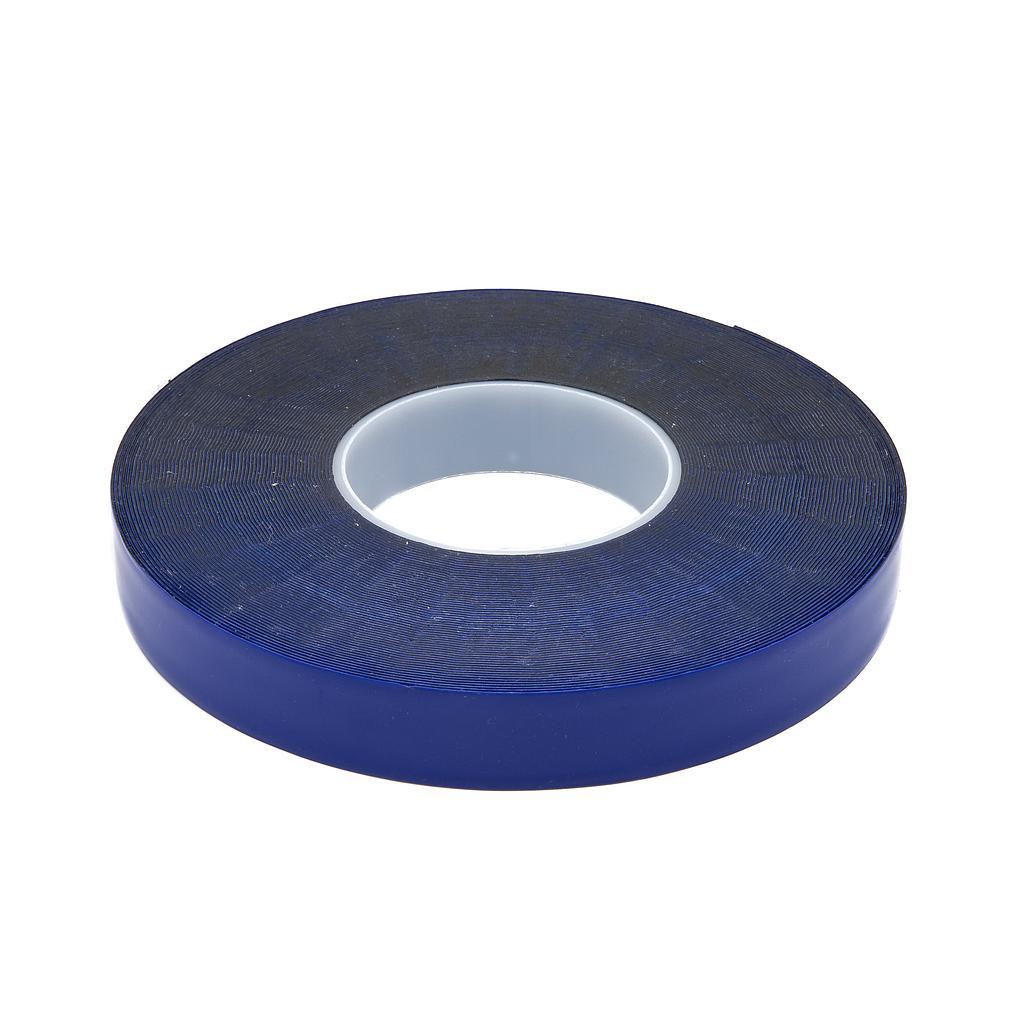 Cinta Doble Faz ARMAR p/fijación soportes Roller a vidrio/metal 25mm x 25 METROS (Azul)
